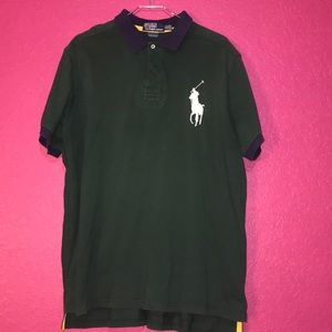 all black ralph lauren shirt orange ralph lauren shirt